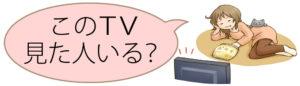 「このTV見た人いる?」リンク画像
